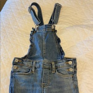 Girls H&M denim overalls